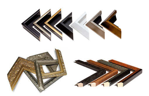 Hundreds of frames to choose from.