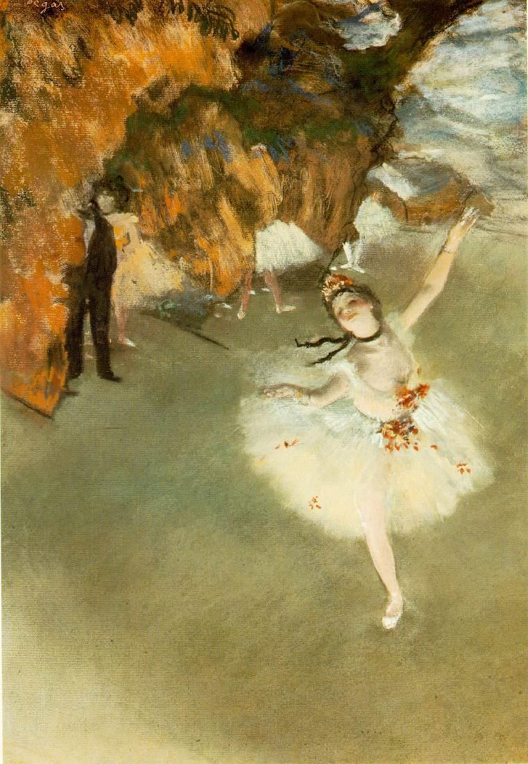 Etoile by Degas