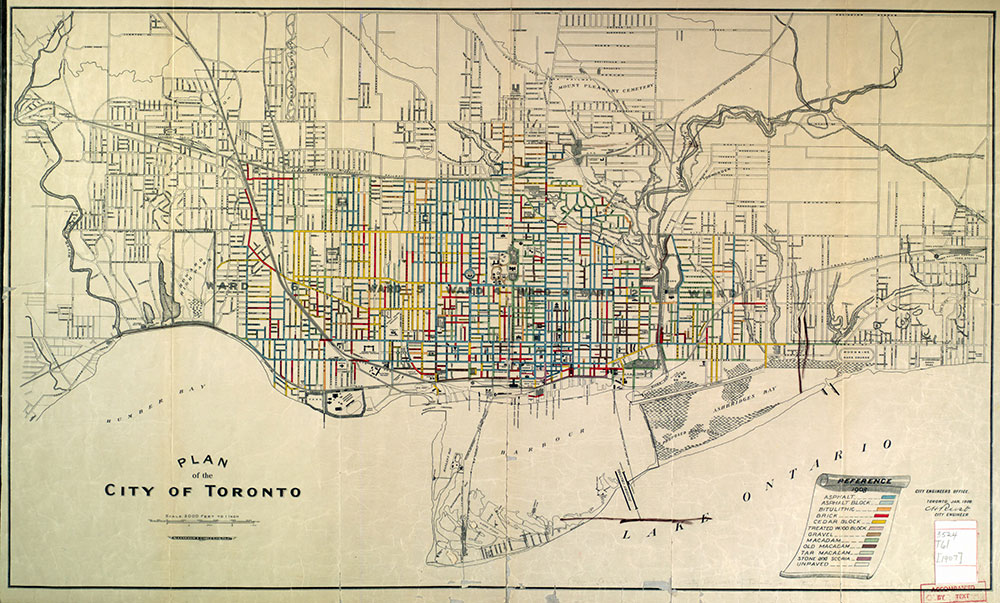 Plan of the City of Toronto