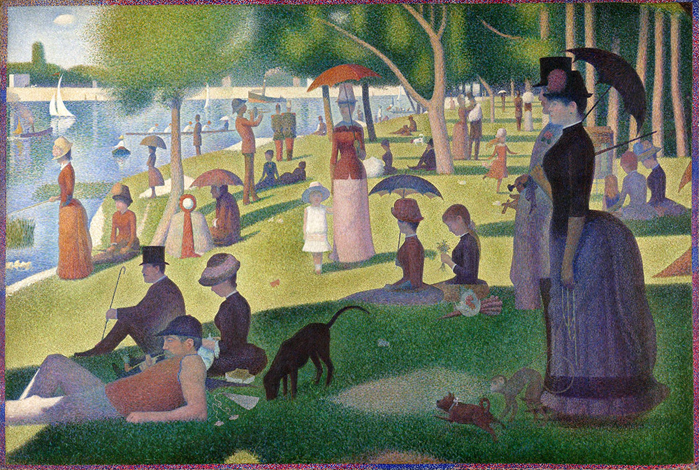 Seurat – A Sunday Afternoon on the Island of La Grande Jatte