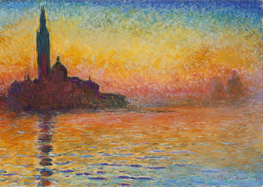Saint Georges Majeur au Crepuscule by Claude Monet