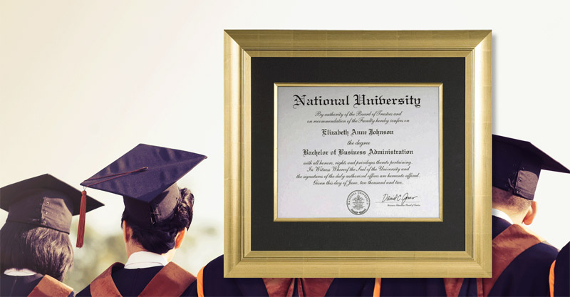Custom Diploma Frames in Toronto | Alternative Arts