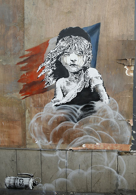 Banksy Teargas