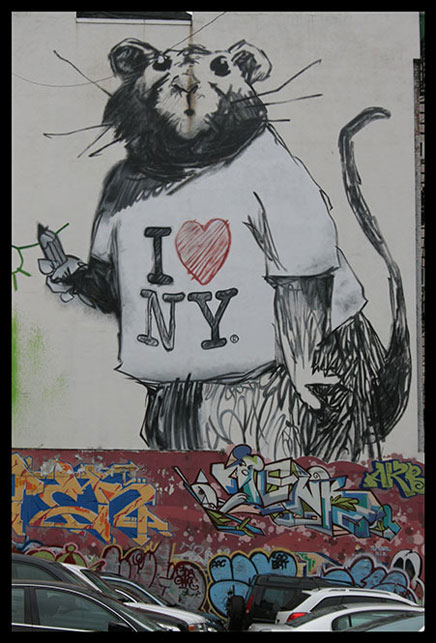 Banksy I Heart New York