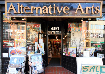 Alternative Arts Custom Framing, Printing, and Fine Art.