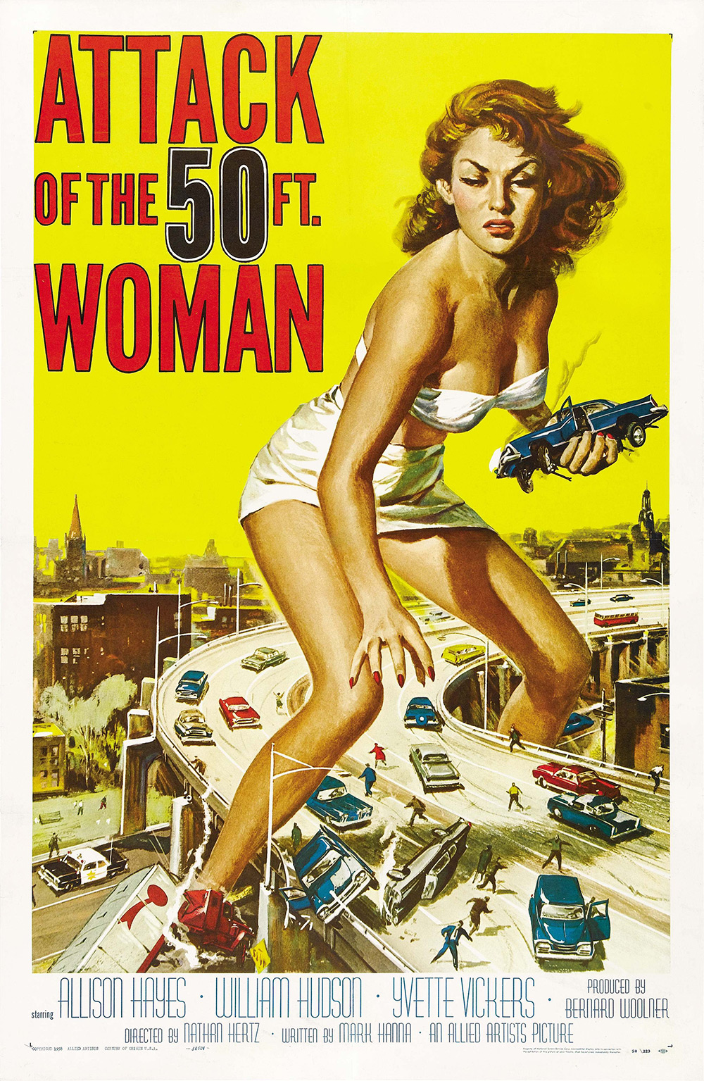 Attack of the 50 Foot Woman movie poster