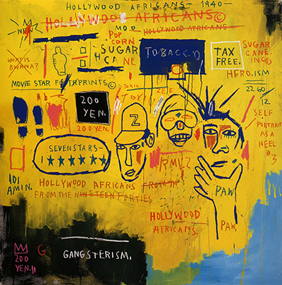 Hollywood Africans by Jean-Michel Basquiat