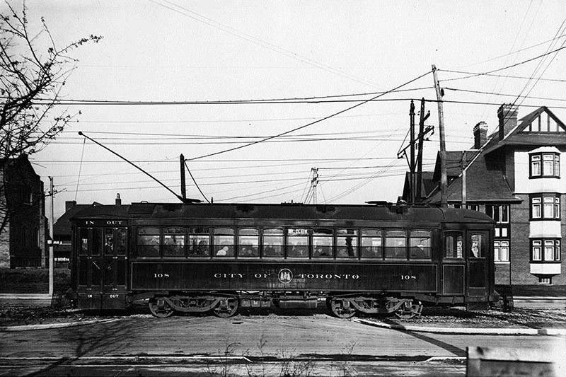 Toronto Civic Car No. 108. 1916