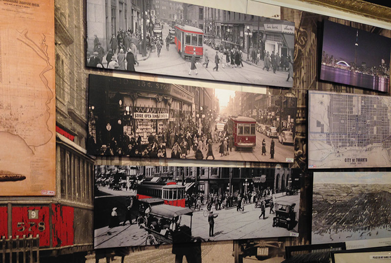 Vintage Toronto Photos Stretched on Canvas - Alternative Arts