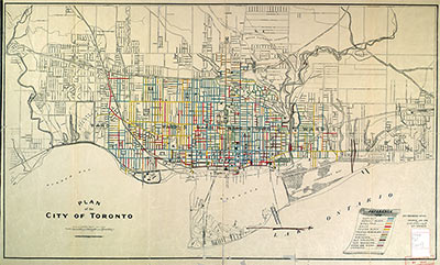 Maps Toronto.Vintage Historical Maps Of Toronto Alternative Arts