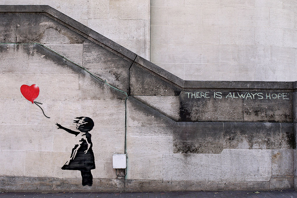 Banksy There is Always Hope - Girl with Balloon