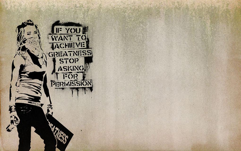 Banksy Achieve Greatness